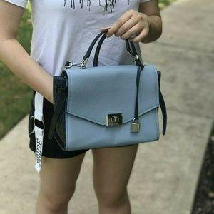 Michael Kors Bags - Michael Kors CASSIE MD Leather Messager Bag Blue